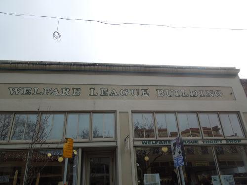 welfare league thrift shop