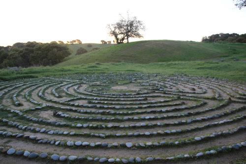 labyrinth at sunrise 001