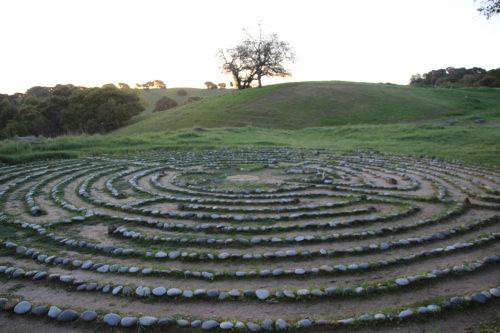 labyrinth at sunrise 001