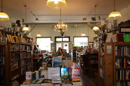 pt reyes books interior