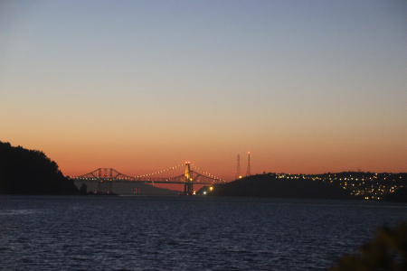 carquinez bridge sunset 002