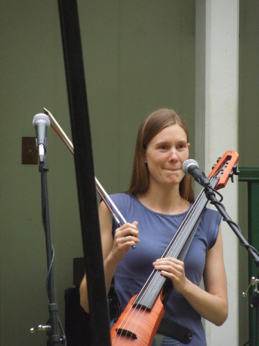ann with electic cello