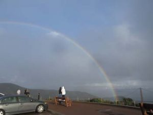 Rainbow over the Marin Headlands