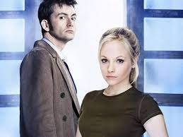 David Tennant and Georgia Moffett in the Doctor's Daughter
