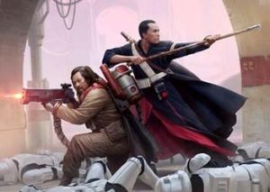I need action figures of these two, stat! Baze, left and Chirrut, right (Wen Chiang and Donnie Yen.)