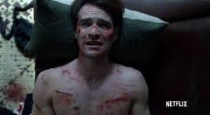 """Yes! It hurts so good!"" Matt Murdock, beaten up"
