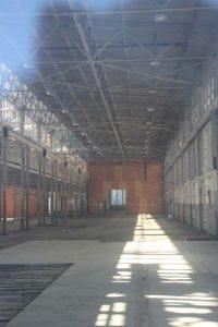 Interior, building 106