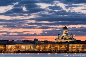 Helsinki on a Summer Night