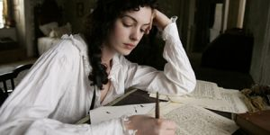 Jane Austen revised (as portrayed by Anne Hathaway)