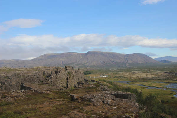 The Alpingi, the natural amphitheater and site of Iceland's democracy, 930 C.E.