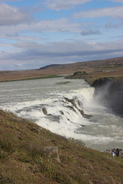 The top half of Gullfoss.