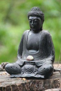 Buddha close up.