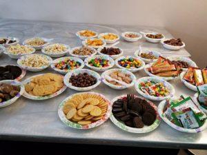 Con-suite snacks.