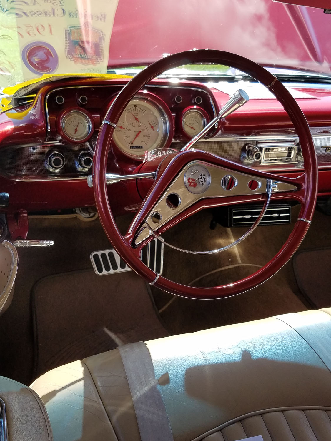 Another dashboard that was a thing of elegance.