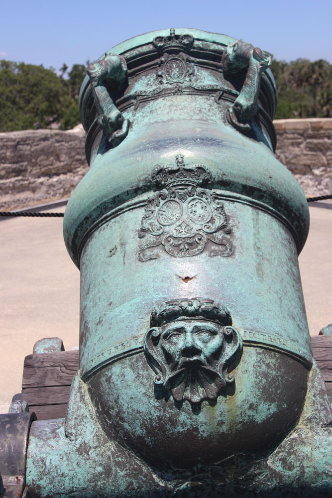 Cannon detail.