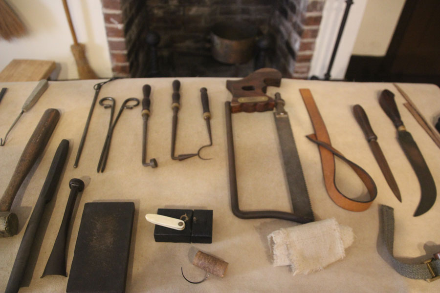 Yikes! Do you think my insurance will cover this? 17th century surgical instruments