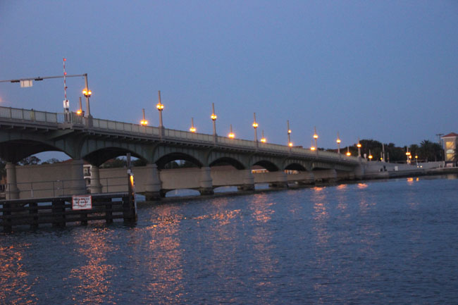 The Bridge of Lions at Twilight