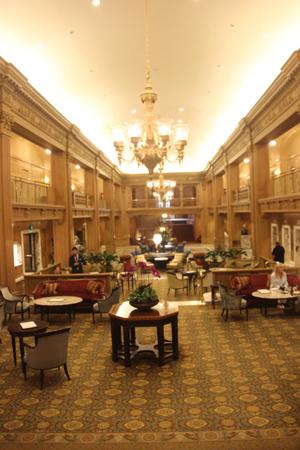 Oh my gosh! That lobby.