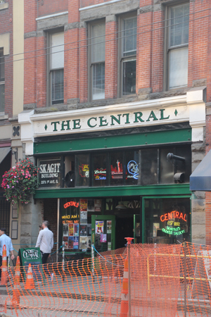 The Central, a dive bar famous for hosting Nirvana.