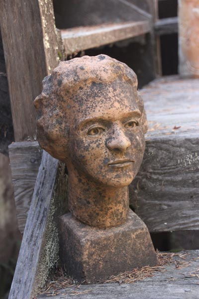 Bust by Barbara Hoffman